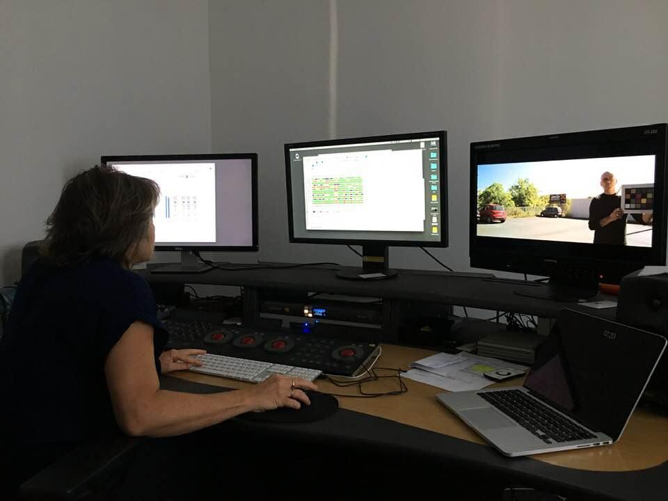 Salle de montage : test workflow pour documentaire