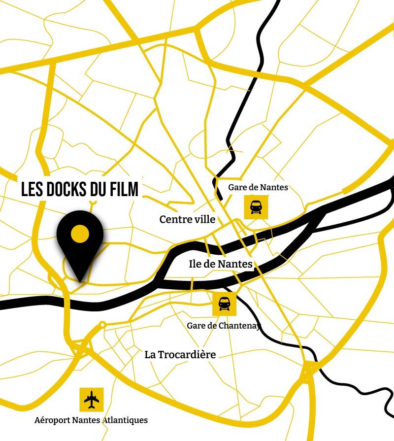 Localisation des Docks du Film