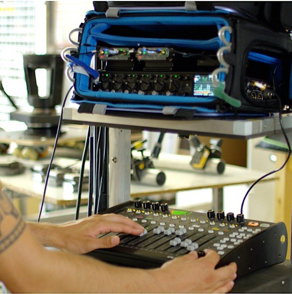 Sound devices 688 Console C24 et 4 HF