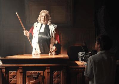 tournage Red Raven sur court-métrage Black Peace de Maxence Flepp