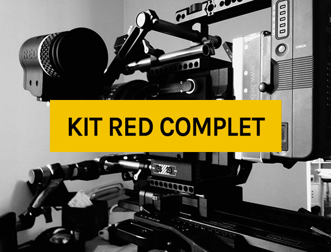 LOcation caméra : Kit Red complet